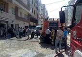 تهران| نجات 15 نفر از میان آتش و دود + فیلم و تصاویر