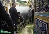 تمهیدات آستان قدس رضوی برای زیارت آسان زائران سالمند و کمتوان