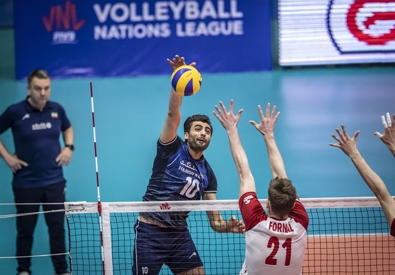 Iran Earns Narrow Victory over Poland in VNL 2019