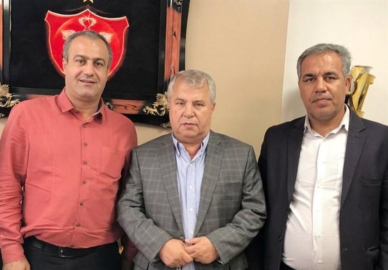 عیادت مدیرعامل پرسپولیس از علی پروین