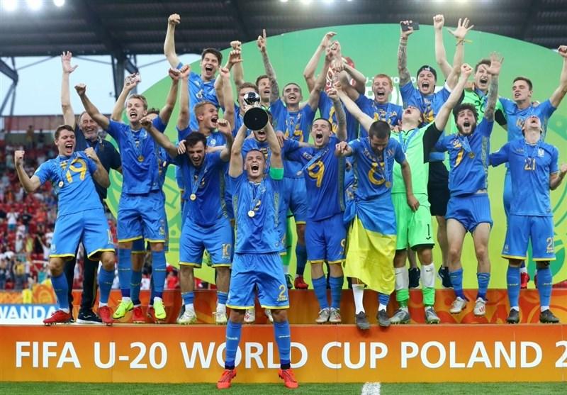 فوتبال جهان| اوکراین قهرمان جام جهانی زیر 20 سال شد