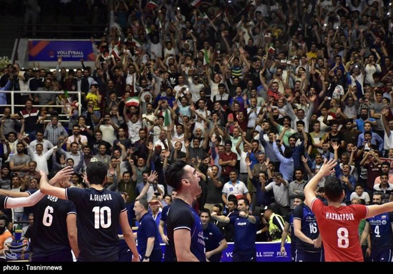 لیگ ملتهای والیبال - ارومیه | خرسهای سه رنگ در چنگال یوزهای ایرانی/ خط و نشان کشیدن ایران برای رقبا در مرحله نهایی