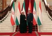 تاکید روسای جمهور ایران و تاجیکستان بر بازگشت روابط تجاری دو کشور به روال قبل