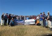 صعود کوهنوردان منتخب ارتش به ارتفاعات دیلمان گیلان