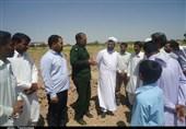 کرمان| ساخت مسجد در دورافتادهترین منطقه محروم فهرج آغاز شد