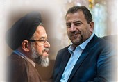 العاروری یلتقی وزیر الأمن الإیرانی محمود علوی