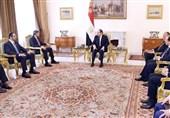 جزئیات دیدار السیسی با دو مقام اماراتی