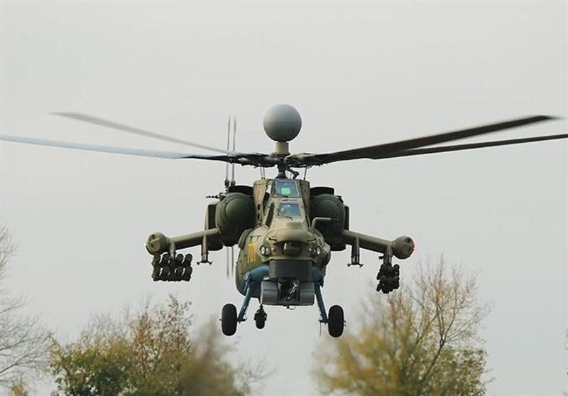 آزمایش موفق بالگرد روسی «شکارچی فوقالعاده شب» در سوریه