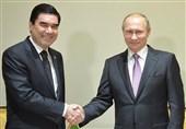 مذاکرات تلفنی پوتین و بردی محمداف
