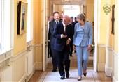 دیدار رئیس جمهور افغانستان با مقامات انگلیسی به روایت تصویر