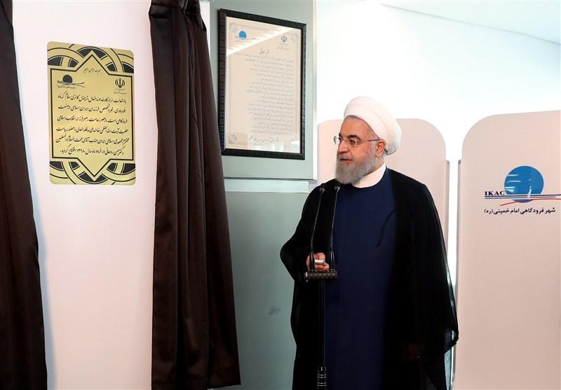 روحانی ترمینال سلام فرودگاه امام خمینی(ره) را افتتاح کرد + تصاویر