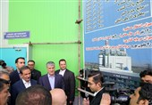 افتتاح یک واحد تولیدی  با حضور جهانگیری در زنجان / سرمایهگذاری 40 میلیون یورویی در ابهر