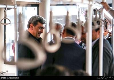رونمایی اتوبوس و مینیبوس های درون شهری با حضور پیروز حناچی شهردار تهران