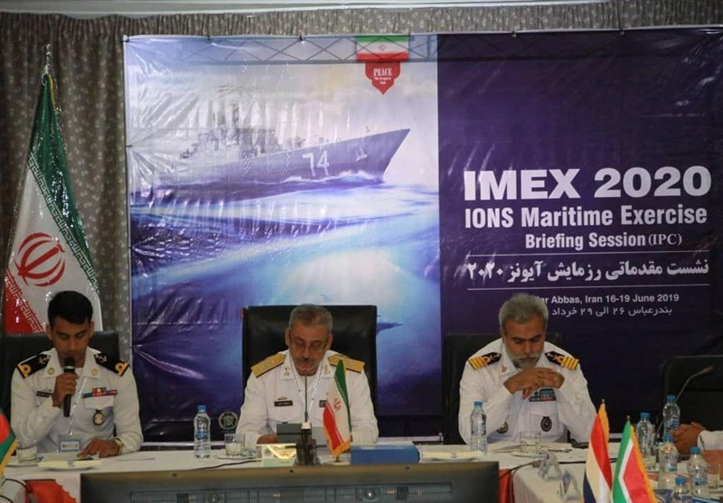 Iranian Navy Holds IONS Briefing Session