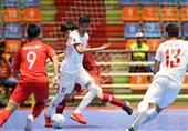 فوتسال قهرمانی زیر 20 سال آسیا| ایران با شکست اندونزی به مقام سوم رسید