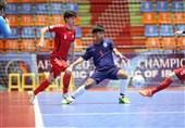 فوتسال قهرمانی زیر 20 سال آسیا| افغانستان با پیروزی مقابل تایلند راهی نیمهنهایی شد