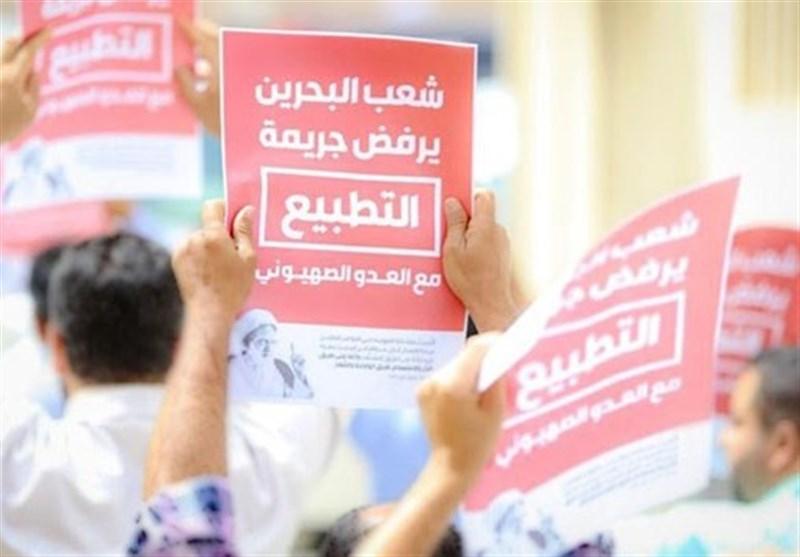 واکنش قابل توجه شهروندان بحرینی به حضور خبرنگاران صهیونیست در کشورشان+عکس
