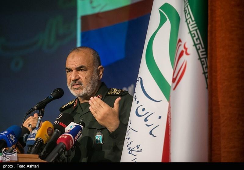 سرلشکر حسین سلامی فرمانده کل سپاه پاسداران