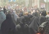 تظاهرات هزاران نفری در روستای «مرسی» با وجود تشدید تدابیر امنیتی