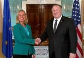 Pompeo, Mogherini Discuss Iran, Russia in DC