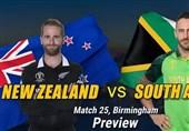 ورلڈکپ میں آج نیوزی لینڈ کا مقابلہ جنوبی افریقا سے ہوگا