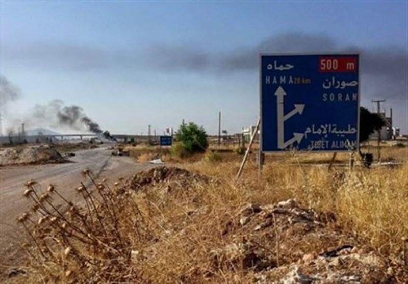سوریه حمله راکتی تروریستهای النصره به شهر السقیلبیه در حماه