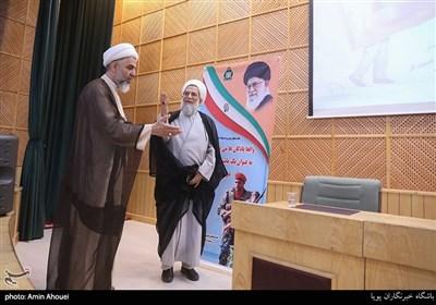حجت الاسلام و المسلمین عباس محمدحسنی،رئیس سازمان عقیدتی سیاسی ارتش