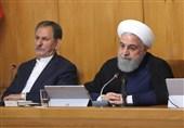 روحانی: الاجراءات الأخیرة کانت الحد الأدنى للرد الإیرانی على انتهاک الاتفاق النووی