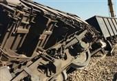 حادثهای که فاجعه نشد؛ قطار باری با سرعت 160 کیلومتر در ساعت از ریل خارج شد