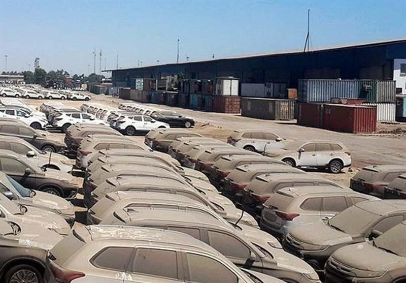 ببینید|دپوی بیش از هزار خودروی میلیاردی در گمرک