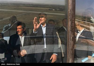 سفر محمد اسلامی وزیر راه و شهرسازی به همدان