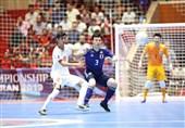 فوتسال قهرمانی زیر 20 سال آسیا| ایران با شکست مقابل ژاپن، از صعود به فینال بازماند