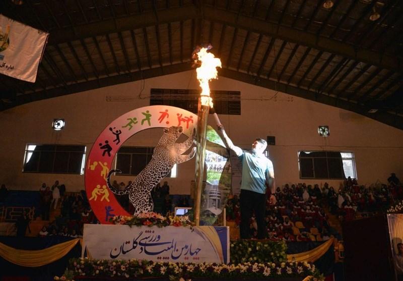 چهارمین دوره المپیاد ورزشی گلستان با شرکت 5000 ورزشکار آغاز شد