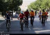 تردد دوچرخهسواران در خطوط ویژه ممنوع است