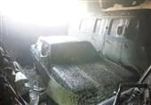 تهران| یک کشته و 2 مصدوم در آتشسوزی 9 خودروی کلاسیک + تصاویر
