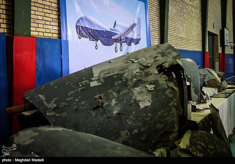 Iran Showcases Downed US Drone Wreckage