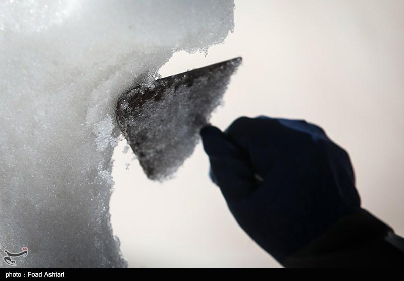 """فیلم/ """"برف 2متری"""" در مرداد بیخ گوش شهر تهران!"""