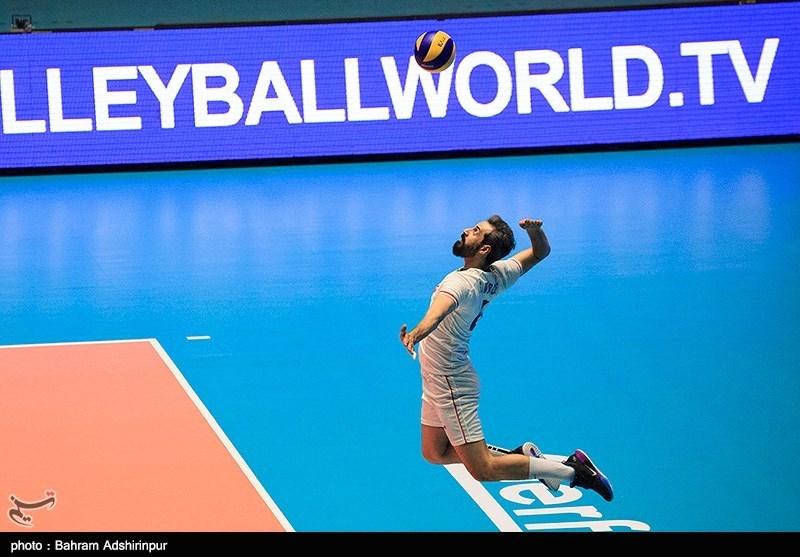 والیبال ایران رکورد زد