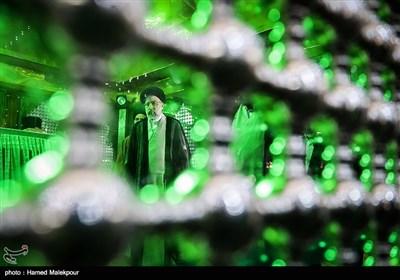 تجدید میثاق حجتالاسلام سیدابراهیم رئیسی رئیس قوه قضائیه با آرمانهای امام خمینی(ره)