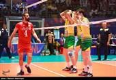 زنده - والیبال قهرمانی آسیا| ایران دو ست نخست فینال را از استرالیا برد/ حضور داورزنی، صالحی امیری و بسکتبالیستها در سالن