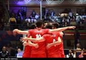 والیبال قهرمانی آسیا| پیروزی ایران مقابل هند و راهیابی به مرحله یک چهارم نهایی