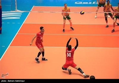 ایران در دومین بازی خود از روز دوم هفته چهارم لیگ ملتهای والیبال ۳ بر صفر بر استرالیا غلبه کرد.