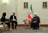 روحانی: على المنظمات الدولیة الرد على انتهاک أمریکا للأجواء الایرانیة