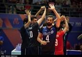حضور پر رنگ بازیکنان تیم ملی والیبال ایران در جمع ترینهای لیگ ملتها