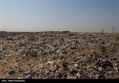 انباشت زباله در مناطق میشداغ و امالدبس خوزستان