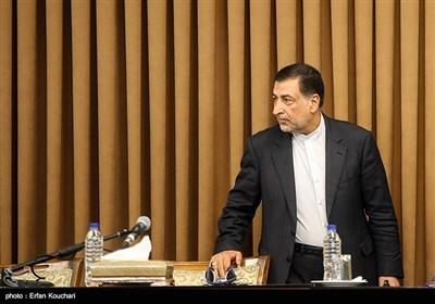 علیرضا آوایی وزیر دادگستری در نشست سفرا و کارداران کشورهای خارجی با رییس قوه قضاییه
