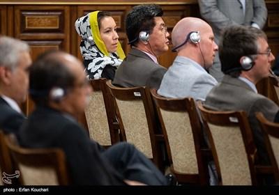 نشست سفرا و کارداران کشورهای خارجی با رییس قوه قضاییه