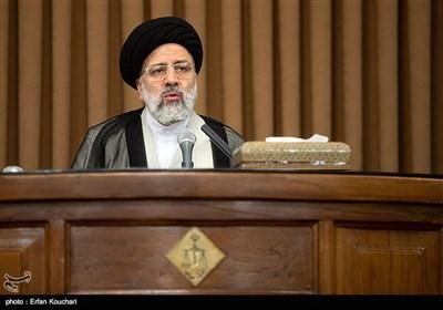 سخنرانی حجت الاسلام سید ابراهیم رئیسی، رئیس قوه قضائیه در نشست سفرا و کارداران کشورهای خارجی با رییس قوه قضاییه