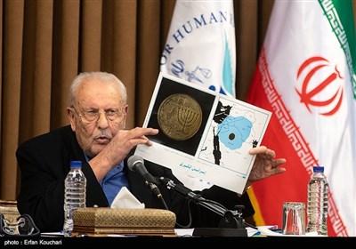 سخنرانی صلاح زواوی سفیر فلسطین در ایران در نشست سفرا و کارداران کشورهای خارجی با رییس قوه قضاییه