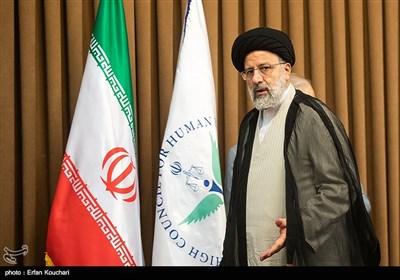 حجت الاسلام سید ابراهیم رئیسی، رئیس قوه قضائیه در نشست سفرا و کارداران کشورهای خارجی با رییس قوه قضاییه